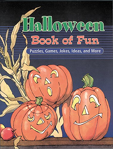 Halloween Book of Fun: Puzzles, Games, Jokes, Ideas, and - Halloween-social-media-ideen