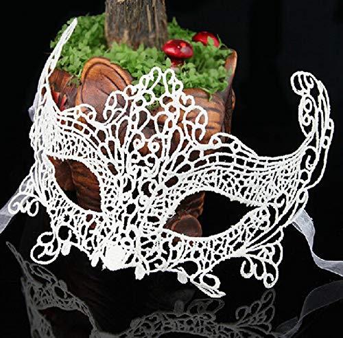 Maskenball Kostüm Mädchen - YIDAINLINE Venezianische Lace Maske Damen Spitze