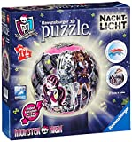Ravensburger Monster High 3D Puzzle Ball Night Light