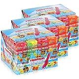 Flic'n'lic Lutscher Tropical 24 Stück 336g - Doppelter Fruchtgeschmack (3er Pack)