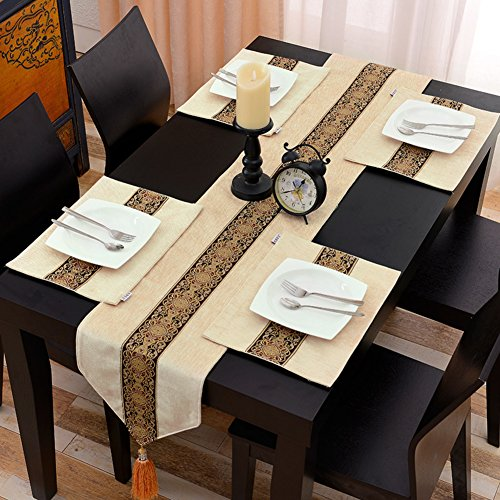 Tischläufer Moderne baumwoll leinen tabelle flagge tv-schrank schuhschachtel retro-tischläufer und der studie tischläufer restaurant teetisch esstisch läufer-D 32x180cm(13x71inch)