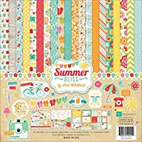Echo Park Paper, Carta Decorativa Fantasia Estate Kit 12