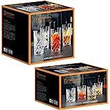 Spiegelau & Nachtmann Nobelesse set 4 x whiskybägare + 4 x longdrinkglas