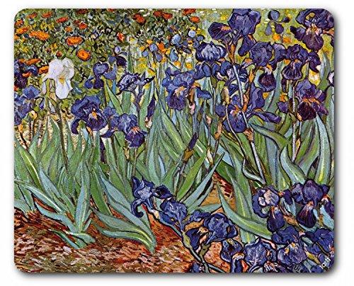 1art1 88925 Vincent Van Gogh - Iris,1889 Mauspad 23 x 19 cm