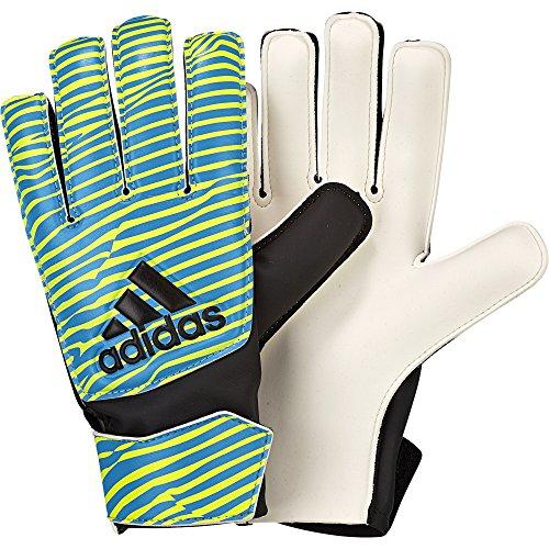 Adidas Herren Torwarthandschuhe X Training Torwart Handschuhe Yellow/Blue S90157, Größe:7 (Torwart Handschuh Größe 7)