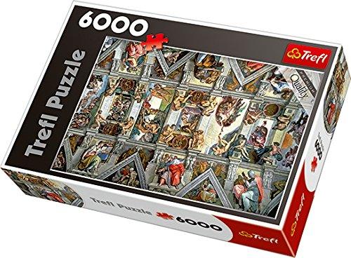 Trefl- Puzzle Soffitto Cappella Sistina, TRF65000