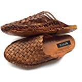 Womens Criss Cross Leather Shoes, Women Brown Sandals, Flats, Handmade Slippers, Womens Casual Shoes