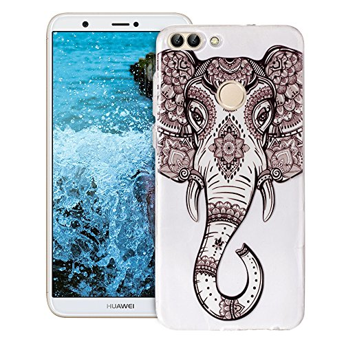 Anfire Funda Huawei P Smart Silicona Suave Gel TPU Carcasa Case Flexible...