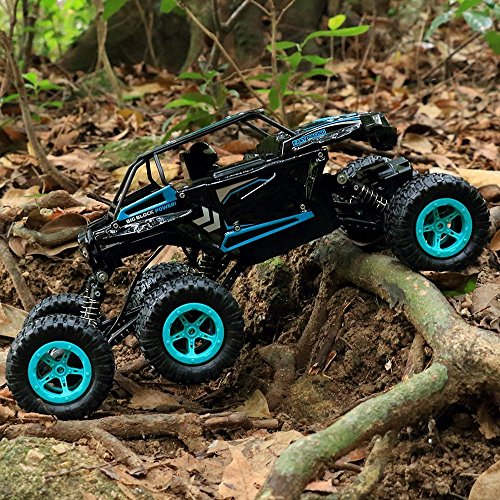 RC Auto, 1:14 RC Ferngesteuertes Auto Remote Control Car Rock Crawler 6WD Elektrische Hoher Geschwindigkeit Monster Truck RC Buggy/Off Road Fahrzeug - 2