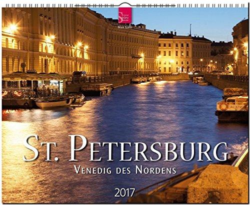 ST. PETERSBURG - Venedig des Nordens - Original Stürtz-Kalender - Großformat-Kalender 60 x 48 cm