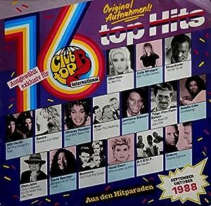 Various club top 13 international september oktober for 1988 club music