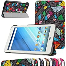 "Acer Iconia One 8 B1-850 Ultra Funda,Mama Mouth Ultra Slim Ligera PU Cuero Con Soporte Funda Caso Case para 8.0"" Acer Iconia One 8 B1-850 Android Tablet,Church window"