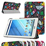 Acer Iconia One 8 B1-850 Ultra Slim Coque,Mama Mouth Ultra Slim PU Cuir debout Fonction Housse Coque Étui Couverture pour 8' Acer Iconia One 8 B1-850 Android Tablette,Church window