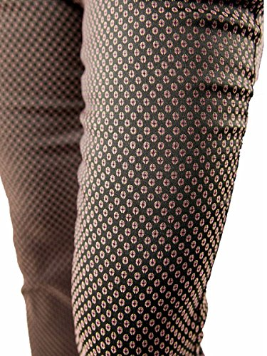 Pantalone New York Jacquard-NENETTE-Stretch MainApps Ovetti