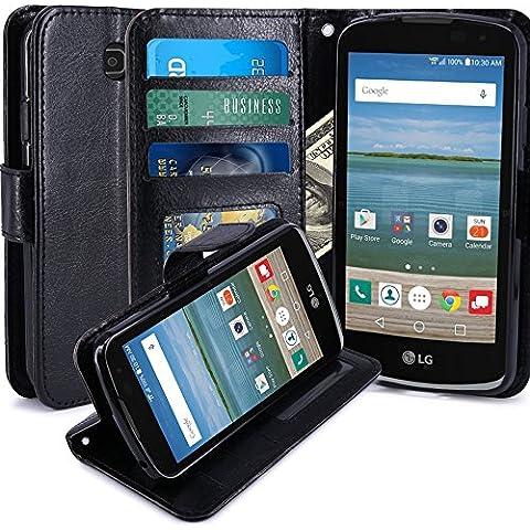 LG K4Cover per LG K4Luxury Portafoglio Porta Carte E