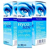 TRIPLE PACK of Hycosan Moisturizer Blue 7.5ml