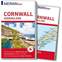 MERIAN live! Reiseführer Cornwall Südengland: Mit Extra-Karte zum Herausnehmen
