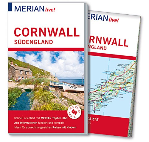 MERIAN live! Reiseführer Cornwall Südengland: Mit Extra-Karte zum Herausnehmen (Canterbury Garten)