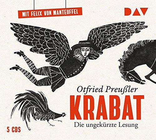 Krabat: Die ungekürzte Lesung mit Felix von Manteuffel (6 CDs) (Ab Gruselgeschichten 6 Halloween)