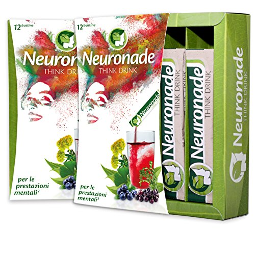 Neuronade ® - Think Drink per la concentrazione, la memoria