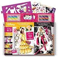 Style me up - Fashion Designer Colouring Book, Painting Book for Girls and Set of Pencils, Stencils, Stickers - SMU-1301