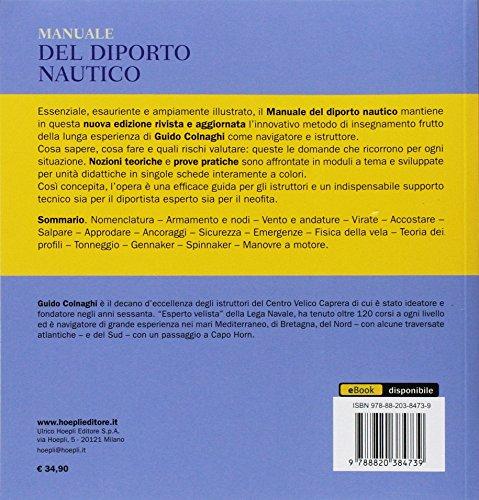 scaricare ebook gratis Manuale del diporto nautico. Nozioni teoriche e prove pratiche PDF Epub
