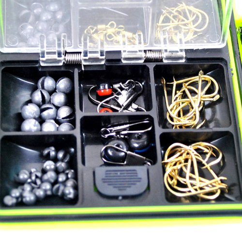 THKFISH Fishing Tackle Box Utility Box Haken Wirbels Angel-Zubehör-Box - 5
