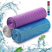 Kühlhandtuch Cooling Towel Cool Towel Kühlendes Handtuch Kühl Handtuch Kühltuch Set Bambus Kühltuch Golf Handtücher...