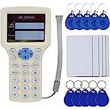 OBO HANDS Engels RFID NFC kopieerapparaat lezer schrijver duplicator 10 frequentie programmeerder met kleurenscherm + 5 stuks