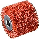 Fartools 110872 - Spazzola in nylon per levigatrice REX120, diametro 120 mm, Rosso
