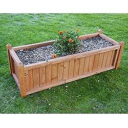 Papillon 8043015 - Jardinera de madera, 40 x 80 cm