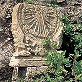 Sogno da giardino meridiana–Maia pietra antica, colore: ocra