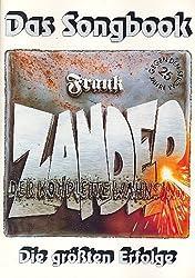 Frank Zander: Der komplette Wahnsinn : Die größten Erfolge von Frank Zander - Songbook für Gesang und Klavier - plus praktischen Bleistift -- enthält 16 Songs u.a. mit HIER KOMMT KURT (Noten/sheet music)