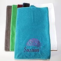 Handtuch mit Wunschmotiv und Wun
