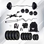 SPORTO FITNESS 10kg Combo 4-WB 03 Home Gym and Fitness Kit Home Gym
