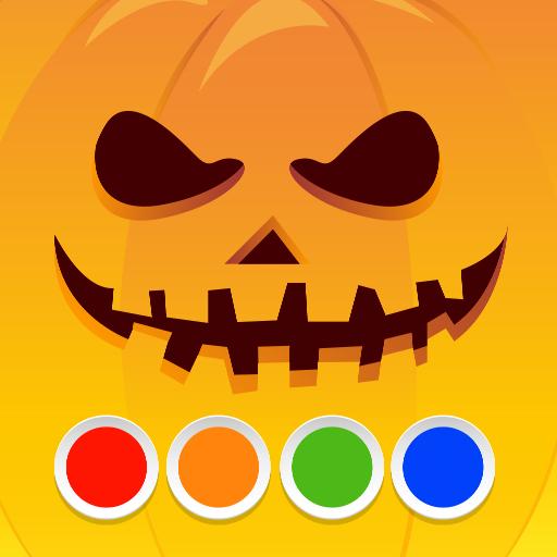 Für Kostüm Beängstigend Erwachsene - Malbuch - Halloween
