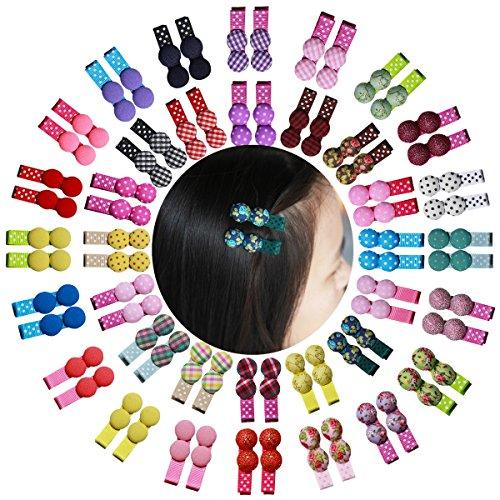 Cute Candy Button Kreis Pilze Reinigungstuch Haar Clips Haarspange für Baby-Mädchen Haar (Cute Kostüme Candy)