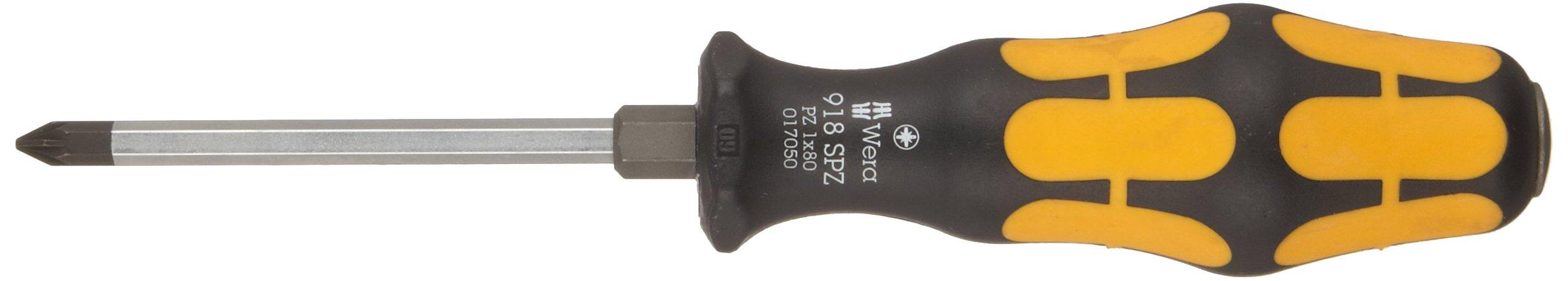 Wera  WER017050  Destornillador Pozidriv, PZ 1 x 80 mm
