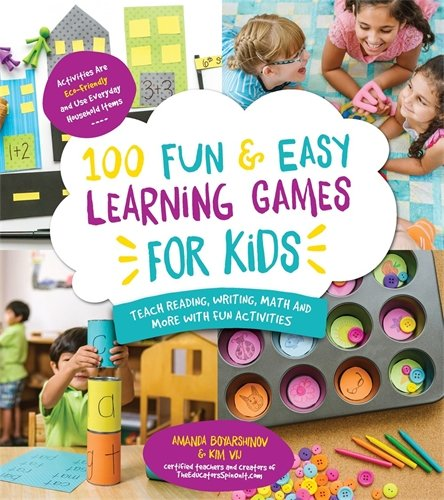 ing Games for Kids: Teach Reading, Writing, Math and More with Fun Activities ()