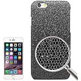 Rocina Glitzer HardCase Schutzhülle in schwarz für Apple iPhone 6 Plus