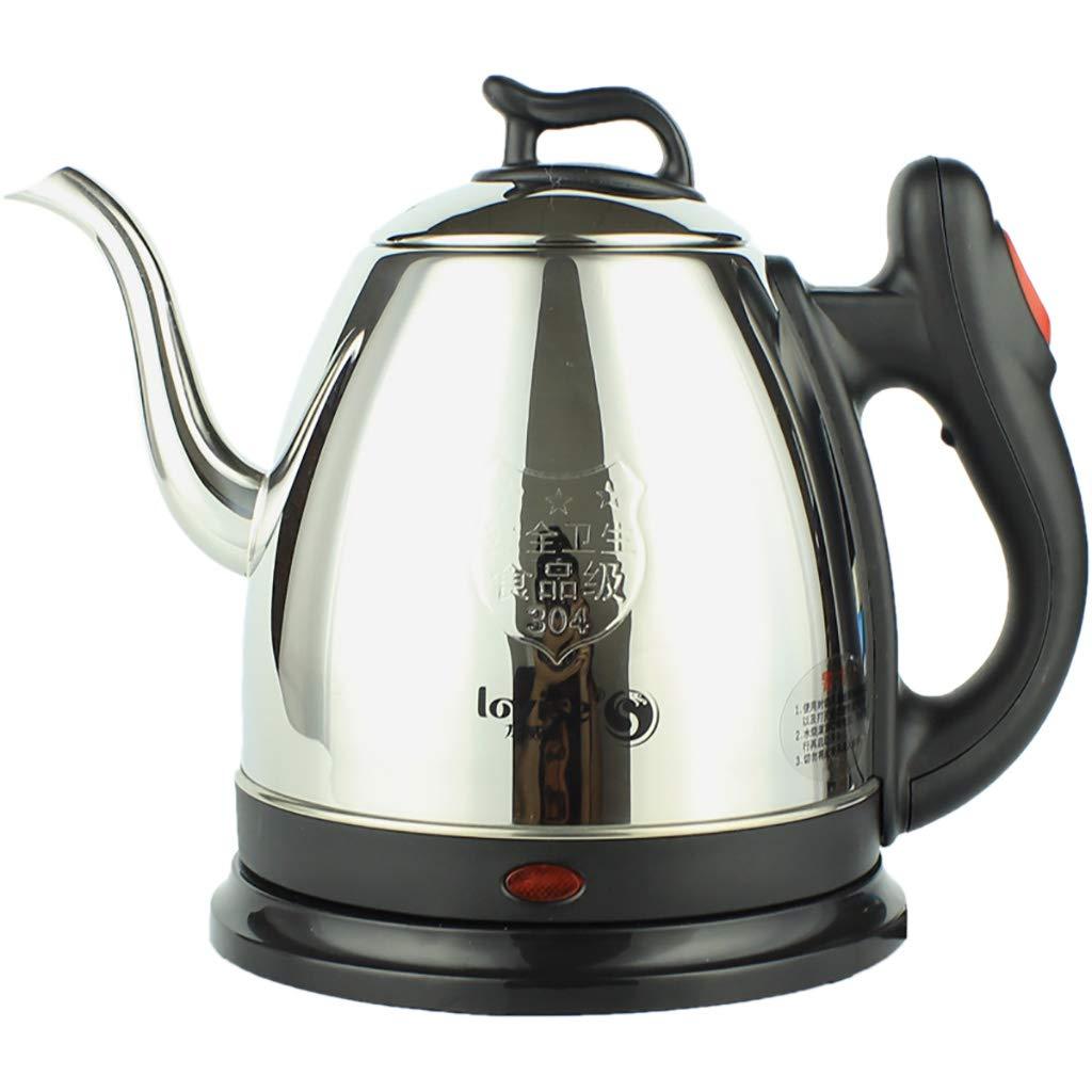 JF Wasserkocher 1L Schwanenhals Edelstahl Kaffeekanne 1500 Watt Schnelle Heizung/Automatische Shutdown Boil Dry Schutz…