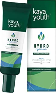 Kaya Youth Hydro Replenish Radiance Day Crème, Enriched With Pure Aloe Vera Gel, Spf 15, Non-Sticky and Lightweight, 24 Hours