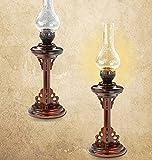 ZZZ-Kerosinlampe Beleuchtung Klassische antike Petroleumlampe Petroleumlampe Studie Schlafzimmer Nachttischlampe Wohnzimmerlampe Beleuchtung Holz Retro-Eigenschaften (Farbe : #2)