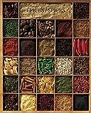 Unbekannt Poster 40x 50cm Gewürze/Spices/Gewürze Atelier Neue Bilder