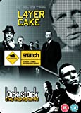 Layer Cake/Snatch/Lock,Stock... [Steelbook] [Reino Unido] [DVD]