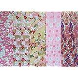 Tradicional japonesa Chiyogami Yuzen 10folios de papel ~ ~ ~ 20x 20cm ref: W