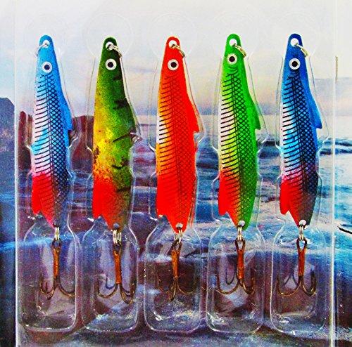 Fladen Lot de 5adaptable à cuillère à pêche...