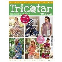 ÁLBUM COLECCIÓN TRICOTAR EN CASA Nº 7 - Revista de tricot y punto