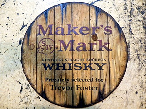 personalized-whiskey-barrel-top-handpainted-makers-mark-bourbon-artwork-and-your-additional-message-