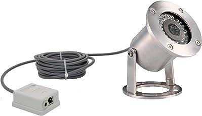Barlus Underwater Camera 304 Stainless Steel IP68 1080P 2MP POE Ip Camera Motion Video 60FPS 5 Meters Length Special Line Lens 3.6MM